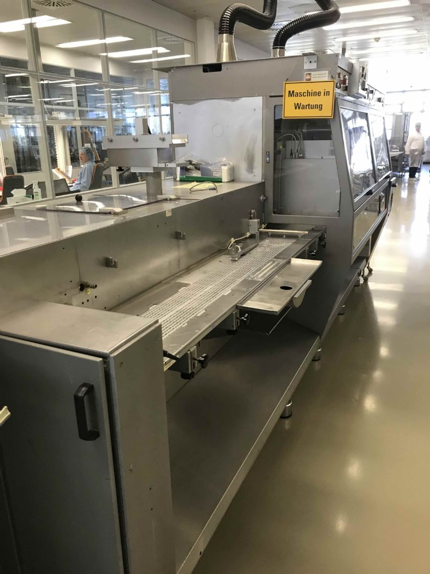 MARCHESINI GROUP Linea blister completa con astucciatrice MARCHESINI GROUP MB 440 - MA 355