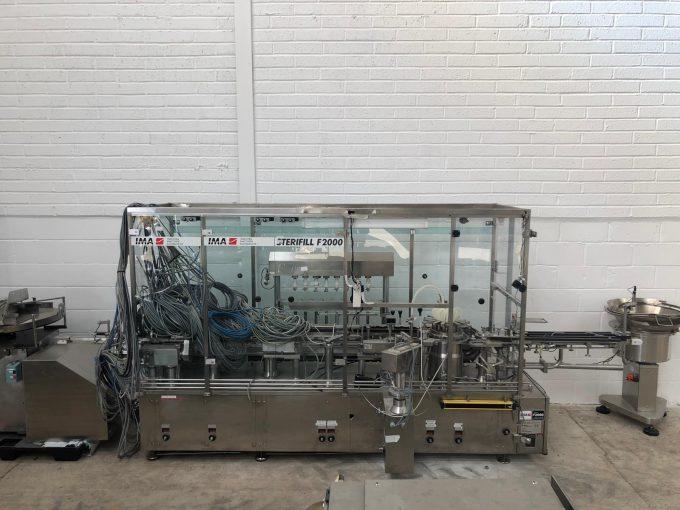 IMA Llenadora IMA F2000