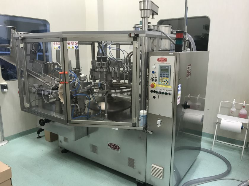 TGM Tube Filling Machine for Aluminium Tubes TGM B600/2