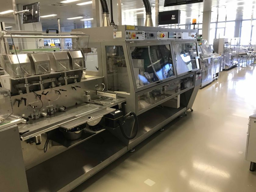 MARCHESINI GROUP Linea per blister con astucciatrice MARCHESINI GROUP MB 440 - MA 305