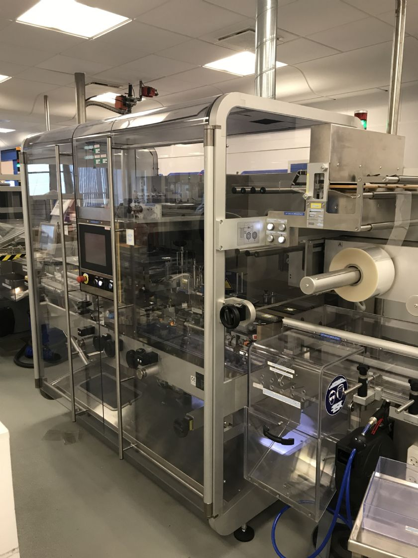MARCHESINI GROUP Complete vials or small round containers packing line MARCHESINI GROUP Different models