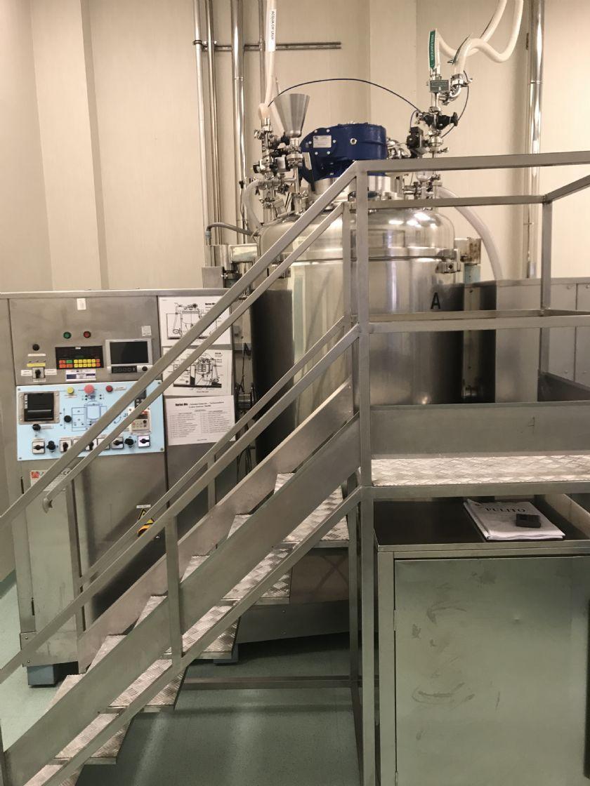 LABORALL Reattore preparazione creme Laborall Vortex mic 750