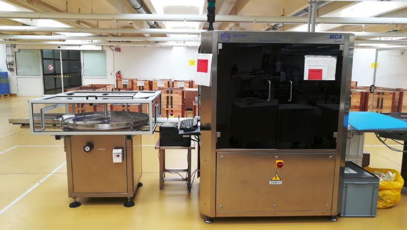 Optrel Revisadora de Viales/Revisadora Micro Fisuras  Optrel MCA 150V