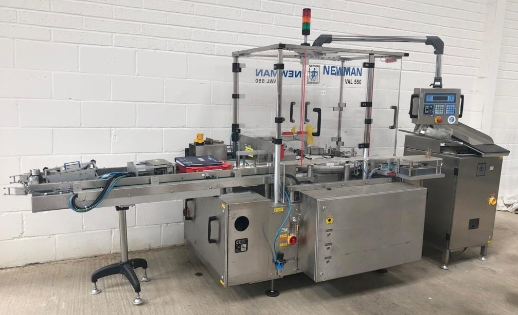 NEWMAN Labelling Machine VAL 550