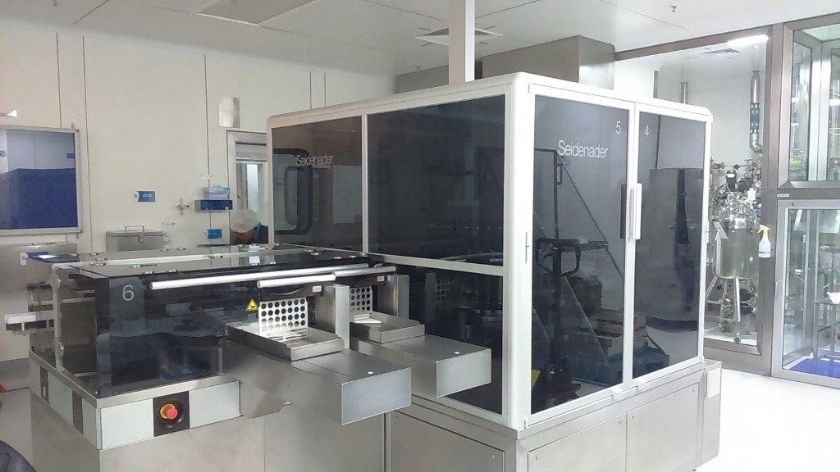SEIDENADER Revisadora de Ampollas y Viales / Revisadora Micro Fisuras  SEIDENADER PI40