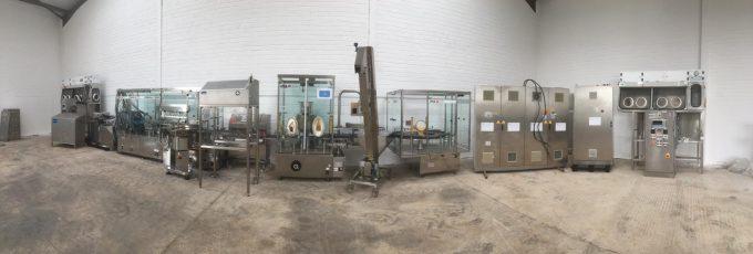 IMA IMA F2000 Sterifill -Complete Sterile Liquid Filling/Stoppering Line
