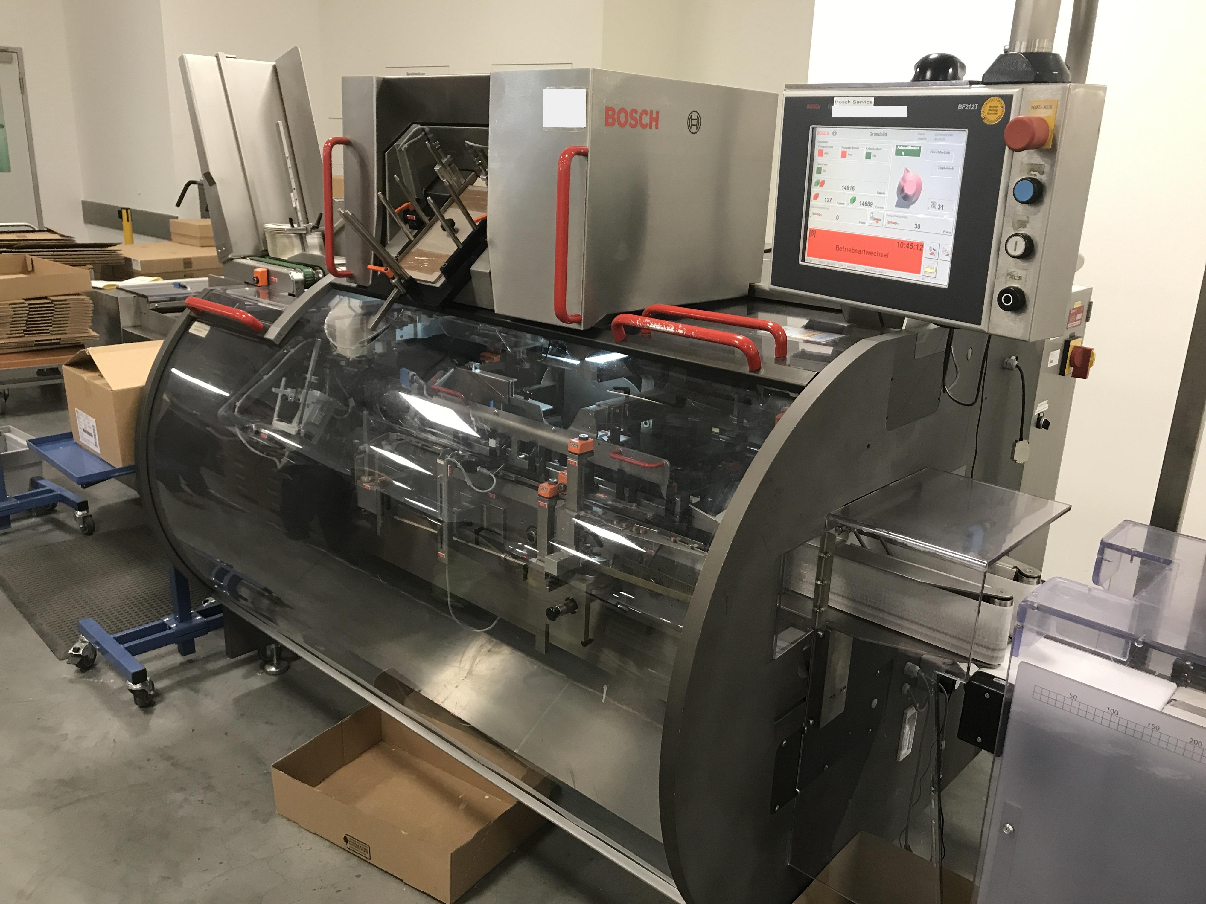 BOSCH Cartoning machine BOSCH CUT 120