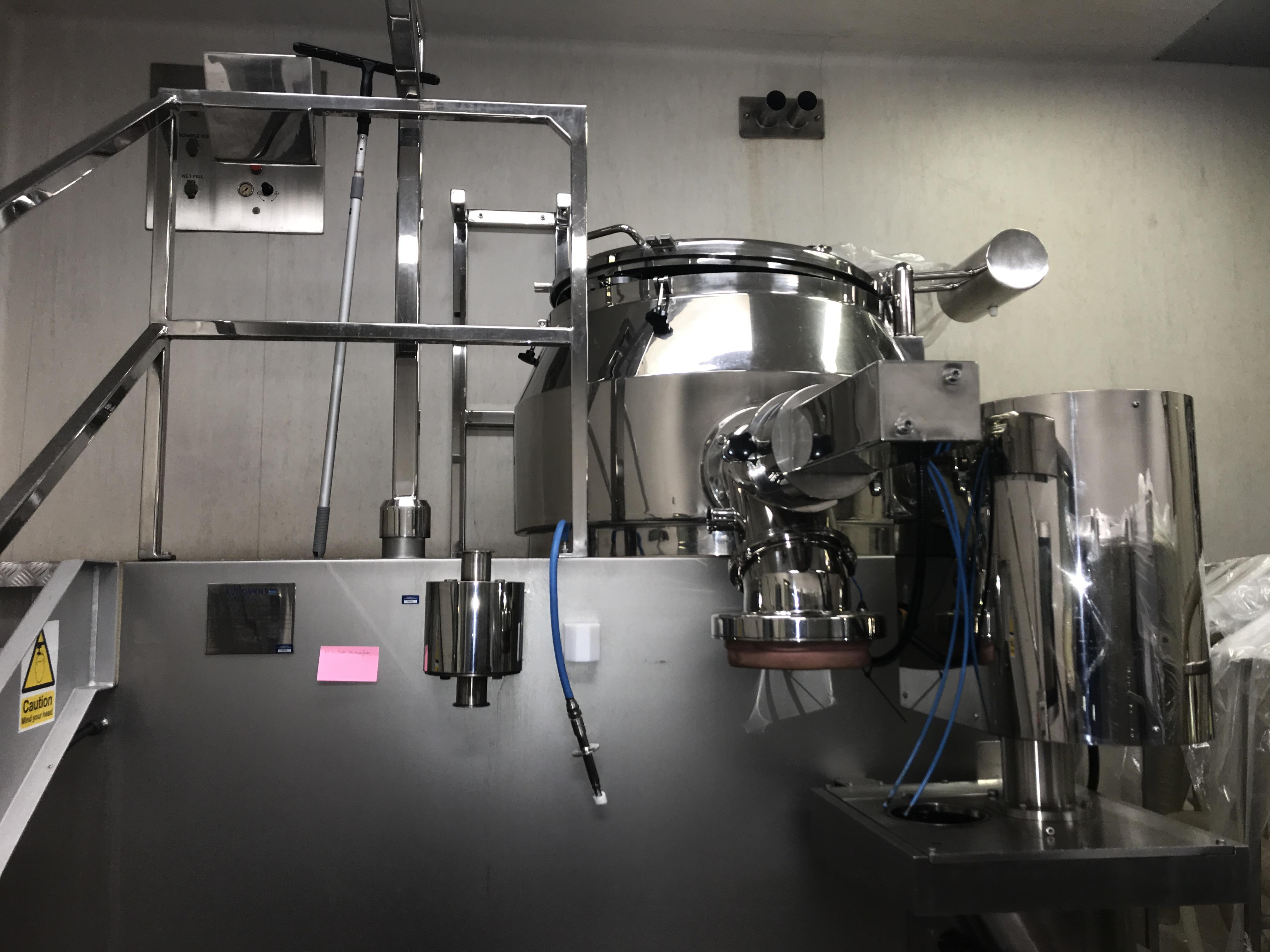 Eurovent  Linea completa di granulazione Eurovent 200 Kg Mod. 600 CMG - 600