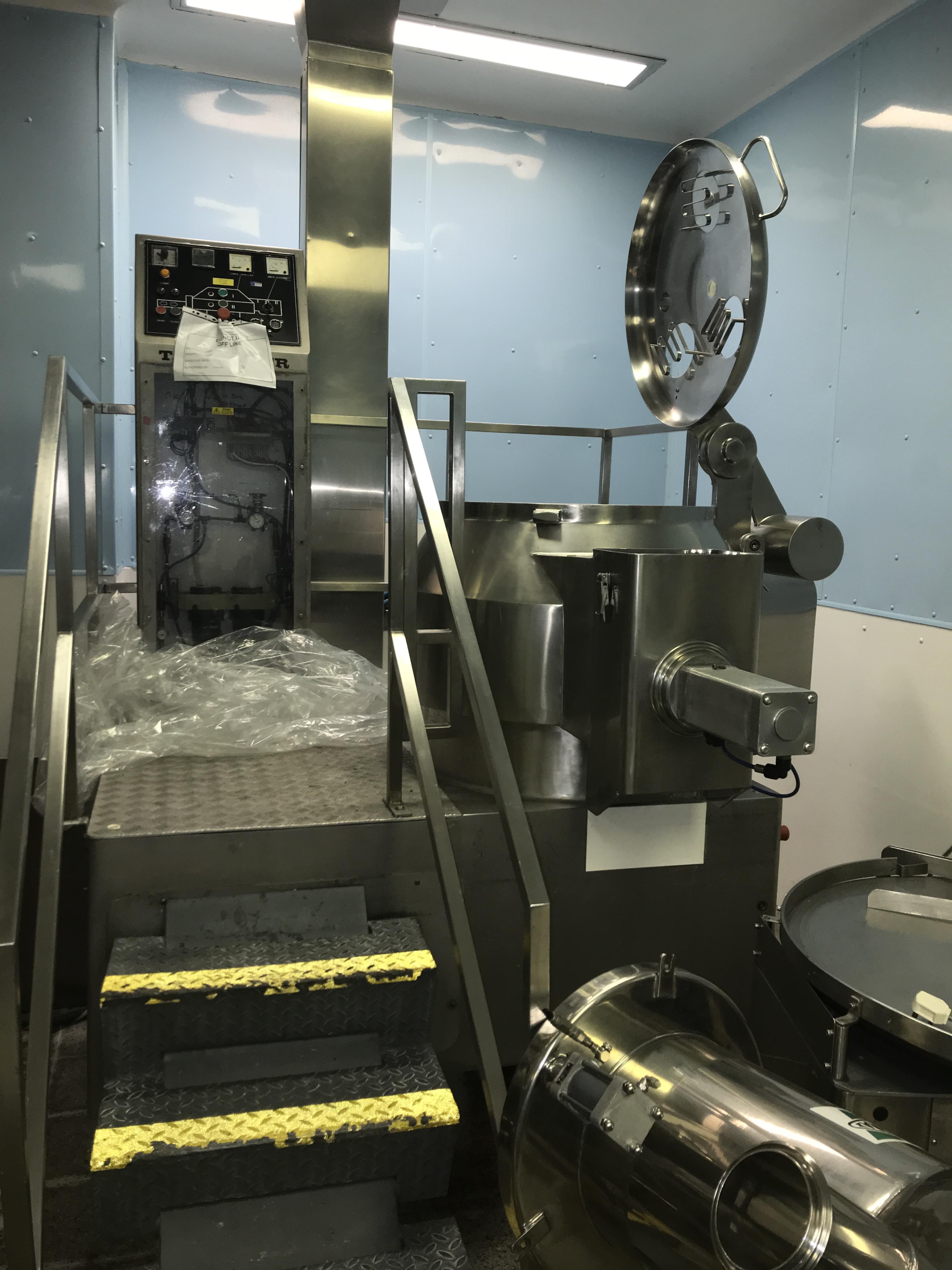 Aeromatic GEA Complete line Aeromatic GEA High Shear Mixer PMA 300 - Fluid bed Dryer T5