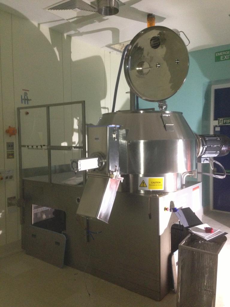 GEA Mezclador y granulador de alta velocidad Aeromatic PMA 800