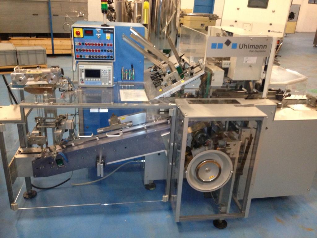 Uhlmann Astucciatrice per blister o vassoi termoformati Uhlmann C 100