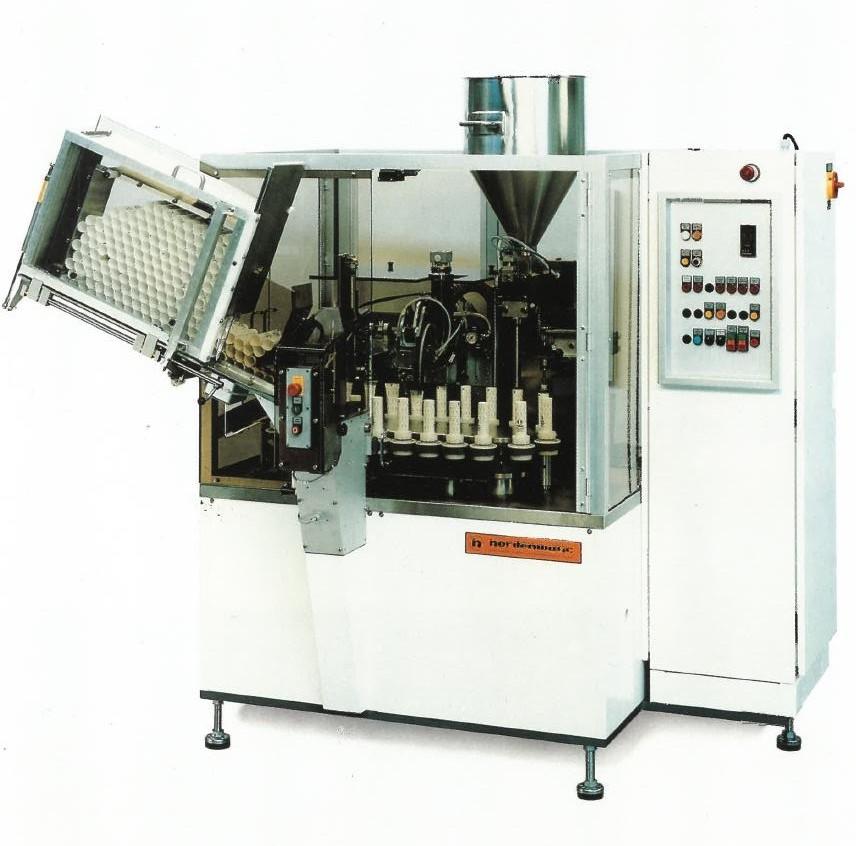 Norden GmbH  Llenadora de Tubos Norden GmbH Nordenmatic 700C
