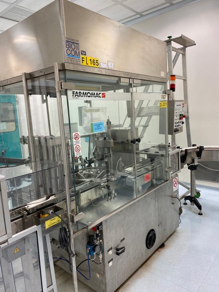 IMA Farmomac Liquid Filling and Closing Machines IMA Farmomac F87