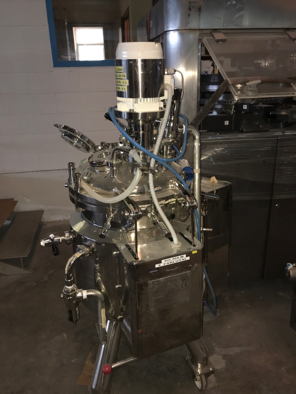 Praminox Preparation vessel for steril products Praminox 100L