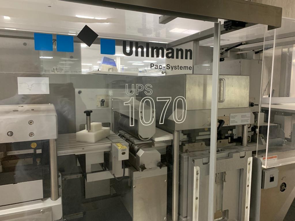 Uhlmann Linea Completa per blister Uhlmann UPS 1070 - C 2404