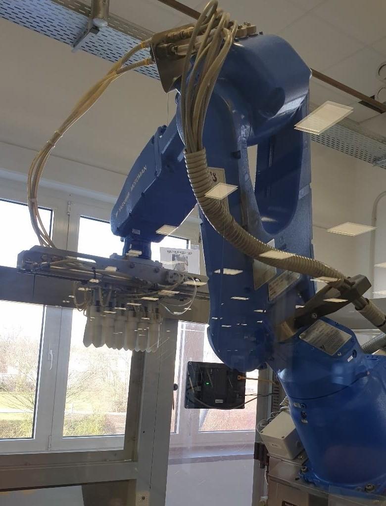 Norden GmbH  Intubettatrice per tubi in alluminio Norden GmbH ERMR-MH0005F-E00 700EM AD180 1000