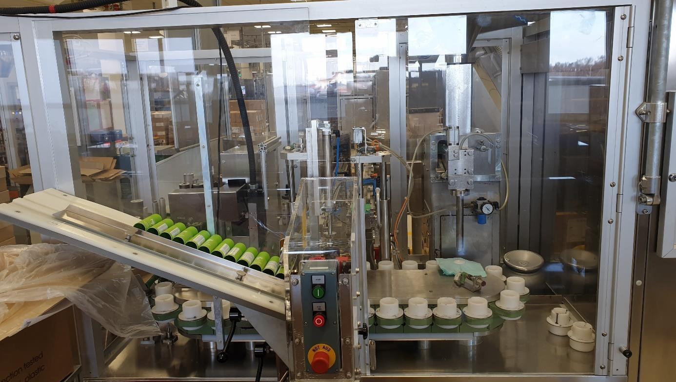 Norden GmbH  Imbottigliamento automatizzato nei sistemi di erogazione Norden GmbH  Nordenmatic 700C