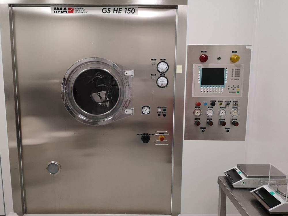 IMA Coating machine IMA GS HE 150
