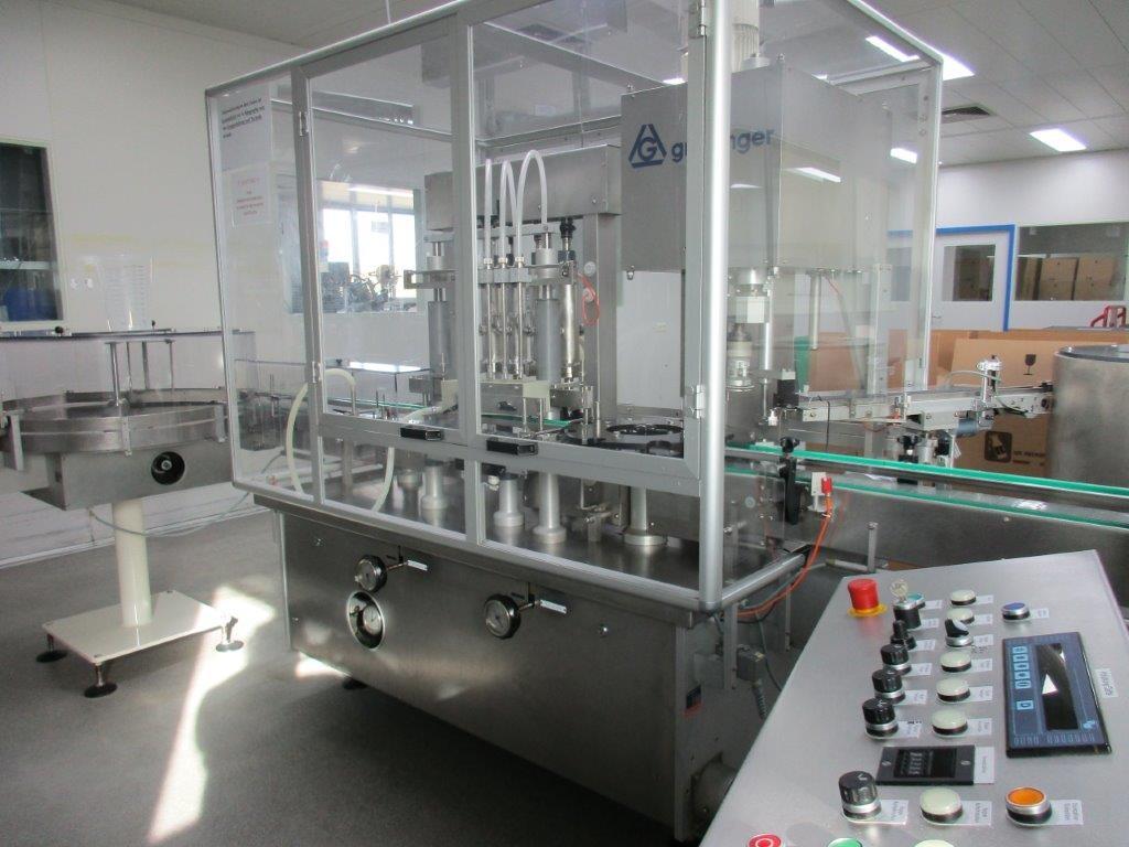 Groninger Bottles filling machine Groninger KFVG 4211