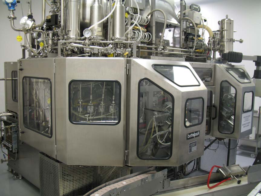ROMMELAG Abfüllmaschine für sterile pharmazeutische Produkte Blow-Fill in Einzeldosis ROMMELAG 305M BFS