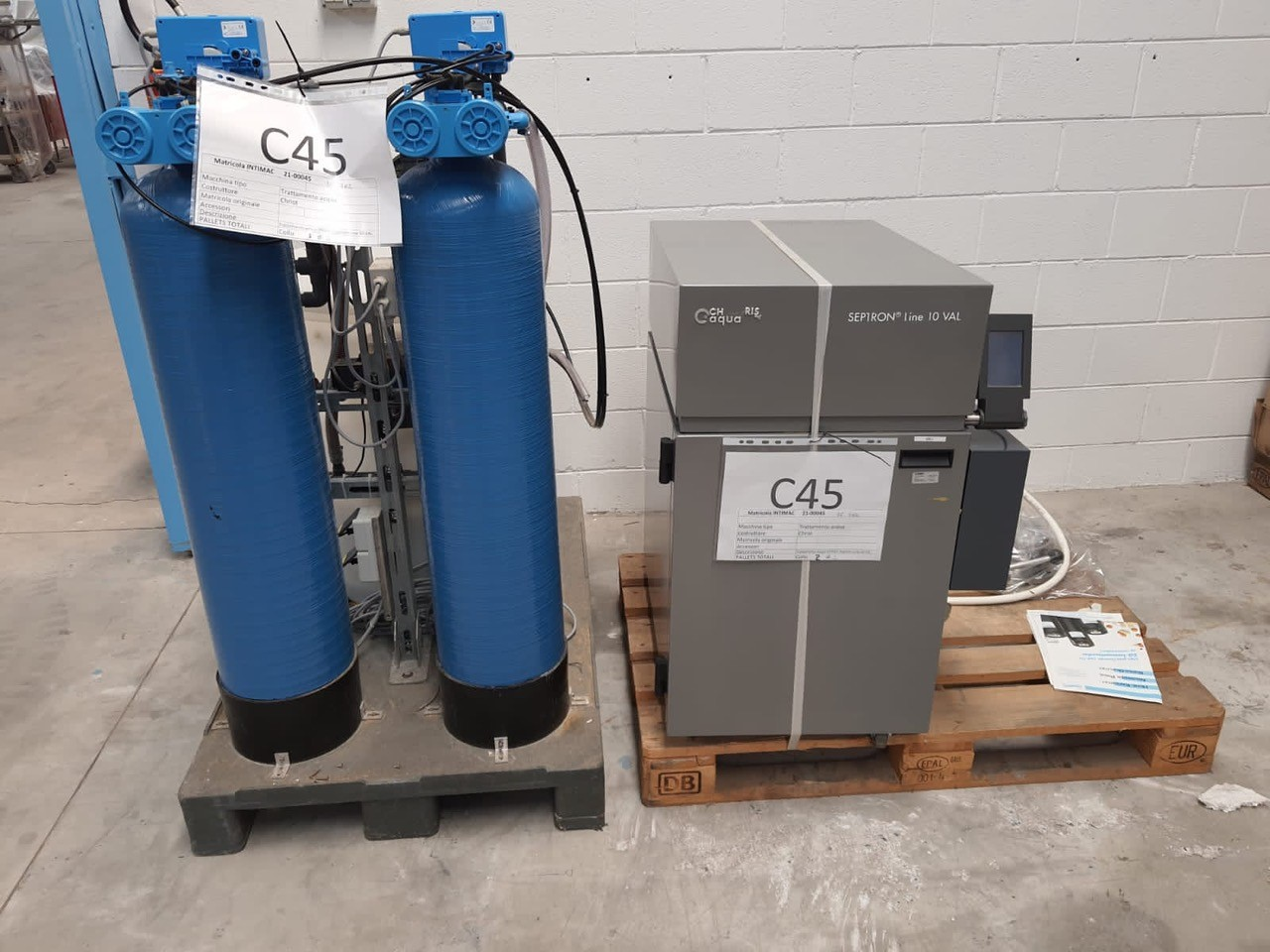 BWT AG  Water treatment / distillation devices / reverse osmosis / pure steam generator BWT AG SL10
