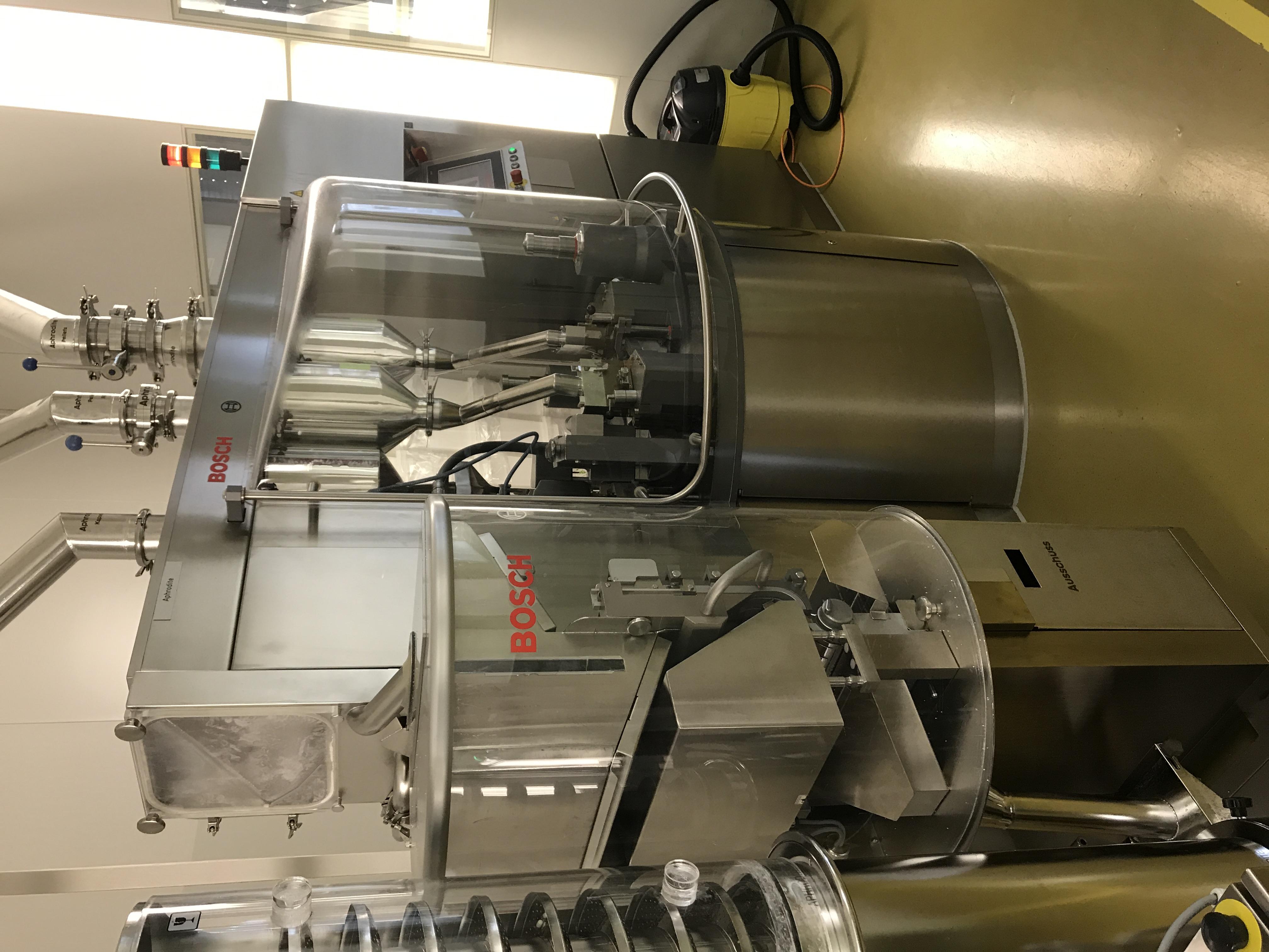 BOSCH Capsule Filling Machines BOSCH GFK 2500