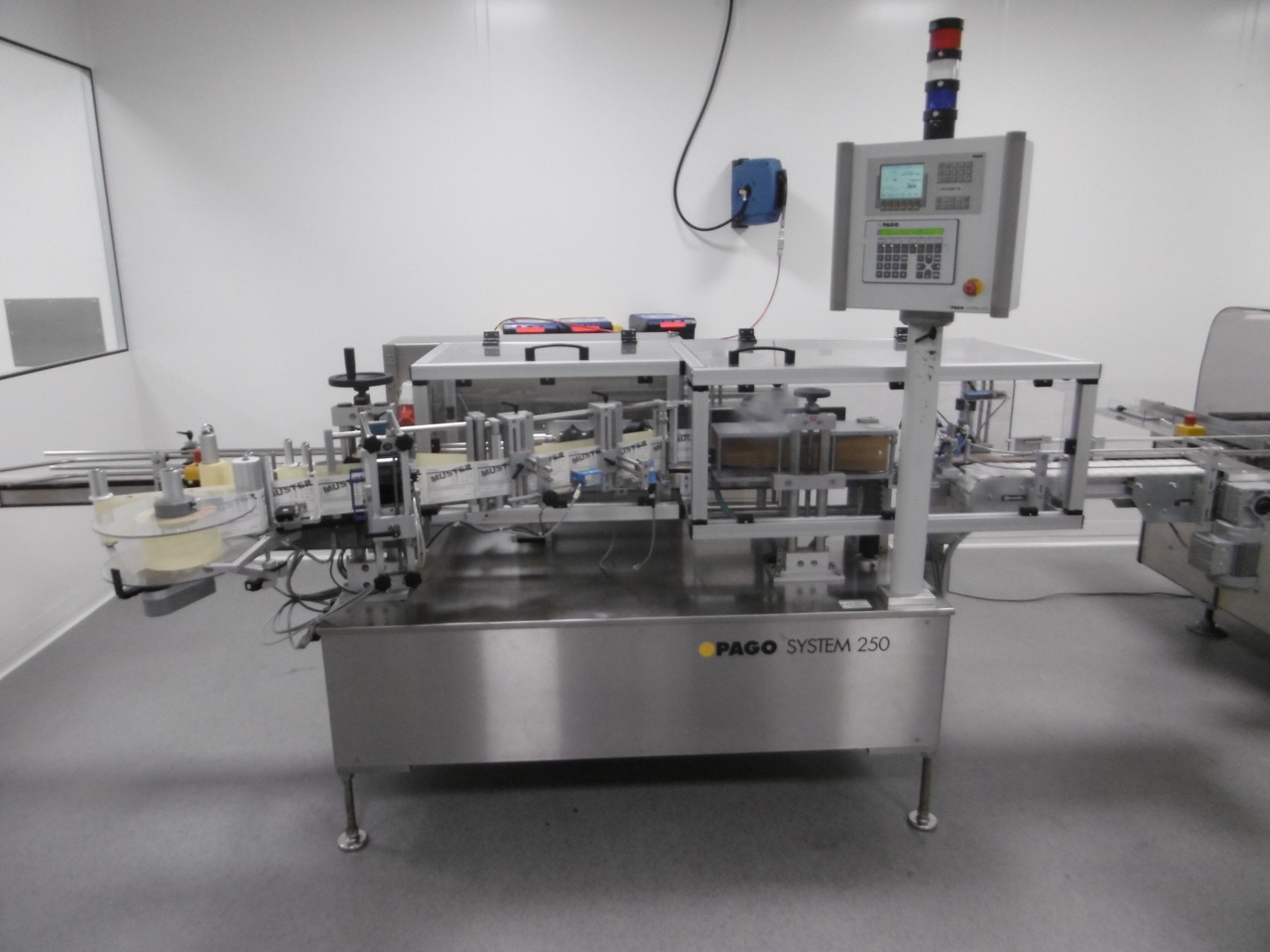 PAGO Labelling Machines PAGO System 250